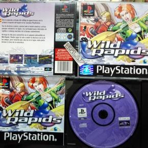 WILD RAPIDS  PAL ESPAÑA COMO NUEVO COMPLETO PSX PLAYSTATION PS1 PSONE ENVIO 24H