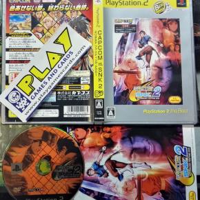 CAPCOM VS SNK 2 MILLIONAIRE FIGHTING 2001 NTSC JAPAN IMPORT PS2 PLAYSTATION 2