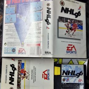 NHL 96 PAL ESPAÑA COMPLETO SEGA MEGADRIVE MEGA DRIVE ENVIO CERTIFICADO / 24H