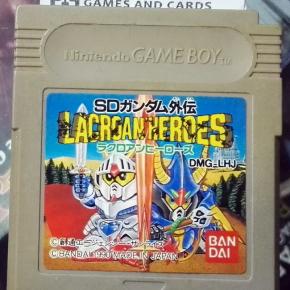 SD Gundam Gaiden: Lacroan Heroes CARTUCHO JAPAN GAME BOY GAMEBOY GB CLASSIC