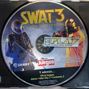 BONUS CD DEMO SWAT 3 DE REVISTA PC COMPUTER HOY JUEGOS No 32 SOLO DISCO ENVIO24H