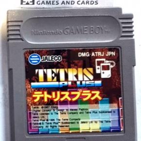 TETRIS PLUS JALECO 1996 CARTUCHO JAPAN IMPORT GAME BOY GAMEBOY GB CLASSIC