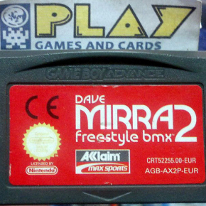DAVE MIRRA FREESTYLE BMX 2 PAL GAME BOY GAMEBOY ADVANCE GBA ENVIOCERTIFICADO/24H