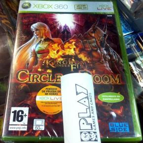 KINGDOM UNDER FIRE CIRCLE OF DOOM PAL ESPAÑA XBOX 360 NUEVO PRECINTADO BRAND NEW