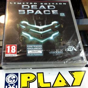 DEAD SPACE 2 LIIMITED EDITION EDICION LIMITADA PS3 PLAYSTATION 3 PAL ESPAÑA NEW
