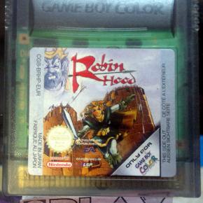 ROBIN HOOD SOLO CARTUCHO PAL GAMEBOY GAME BOY GBC COLOR ENVIO CERTIFICADO / 24H