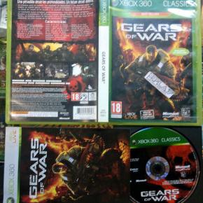 GEARS OF WAR 1 XBOX 360 CLASSICS PAL ESPAÑA COMPLETO MUY BUEN ESTADO ENVIO 24