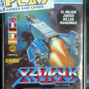 XEVIOUS SPECTRUM CINTA VERSION ESPAÑOLA ERBE SOFTWARE ENVIO CERTIFICADO / 24H