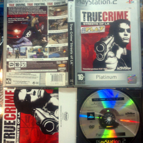 TRUE CRIME PAL UK COMPLETO PS2 SONY PLAYSTATION 2 ENVIO CERTIFICADO / AGENCIA24H