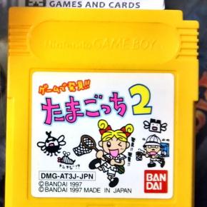 GAME DE HAKKEN!! TAMAGOTCHI 2 CARTUCHO JAPAN IMPORT GAME BOY GAMEBOY GB CLASSIC