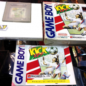 SUPER KICK OFF KICKOFF GAMEBOY GAME BOY COMPLETO PAL ESPAÑA BUEN ESTADO ENTREGA