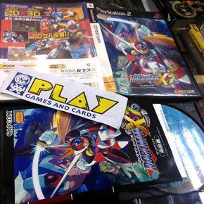 MEGAMAN ROCKMAN X7 PS2 PLAYSTATION 2 JAP COMPLETO CAPCOM BUEN ESTADO ENTREGA 24H