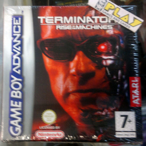 TERMINATOR 3 III RISE OF THE MACHINES PAL ESPAÑA NUEVO NEW GBA GAME BOY ADVANCE