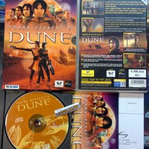 FRANK HERBERT'S DUNE PAL ESPAÑA COMPLETO PC CD ROM ENVIO CERTIFICADO / AGENCIA