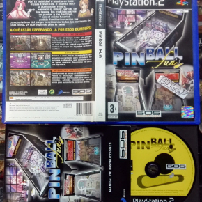 PINBALL FUN PAL ESPAÑA MUY BUEN ESTADO PS2 PLAYSTATION 2 ENVIO CERTIFICADO / 24H