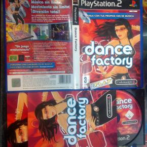 DANCE FACTORY PAL ESPAÑA COMPLETO PS2 PLAYSTATION 2 ENVIO CERTIFICADO / 24 HORAS