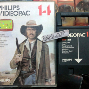 GUNFIGHTER 14 PISTOLERO DUEL REVOLVERHELD1980 PHILIPS VIDEOPAC ENVIO AGENCIA 24H