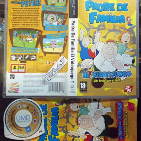 PADRE DE FAMILIA EL VIDEOJUEGO PAL ESPAÑA FAMILY GUY THE VIDEO GAME PSP COMPLETO