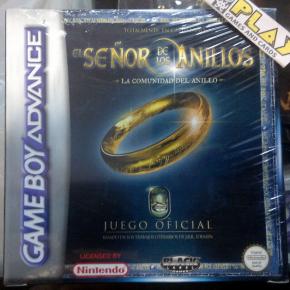 EL SEÑOR DE LOS ANILLOS LA COMUNIDAD DEL ANILLO PAL ESPAÑA GBA GAME BOY ADVANCE