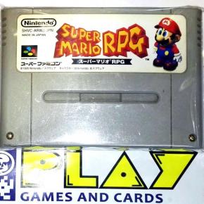 SUPER MARIO RPG CARTUCHO NTSC JAPAN IMPORT SNES SFC SUPER FAMICOM NES NINTENDO