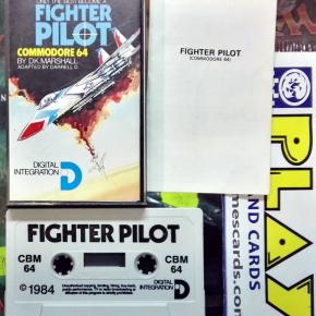 FIGHTER PILOT 1984 DIGITAL INTEGRATION COMMODORE 64  BUEN ESTADO