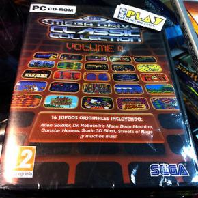 MEGA DRIVE MEGADRIVE CLASSIC COLLECTION VOLUME VOLUMEN 4 PC PAL ESPAÑA NUEVO NEW