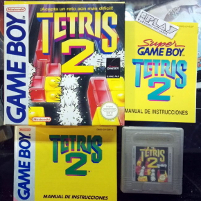 TETRIS 2 PAL ESPAÑA COMPLETO GAME BOY GAMEBOY GB CLASSIC ENVIO CERTIFICADO / 24H