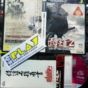 WAY OF THE SAMURAI DOU 2 NTSC JAPAN IMPORT COMPLETO PS2 PLAYSTATION 2 ENVIO 24H