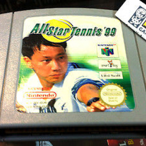 ALL STAR TENNIS 99 NINTENDO 64 PAL ESPAÑA CARTUCHO ENTREGA 24 HORAS UBISOFT