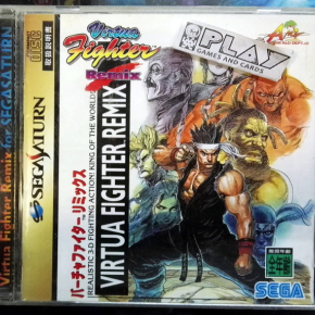 VIRTUA FIGHTER REMIX NTSC JAPAN IMPORT SEGA SATURN ENVIO CERTIFICADO / 24H