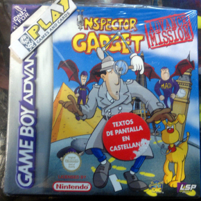 INSPECTOR GADGET ADVANCE MISSION PAL ESPAÑA NUEVO GBA GAME BOY GAMEBOY ADVANCE