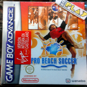 PRO BEACH SOCCER PAL ESPAÑA NUEVO PRECINTADO NEW GBA GAME BOY GAMEBOY ADVANCE