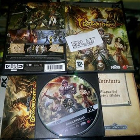 DRAKENSANG THE DARK EYE PC PAL ESPAÑA COMPLETO ROL RPG