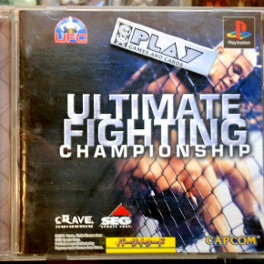 ULTIMATE FIGHTING CHAMPIONSHIP NTSC JAPAN IMPORT PLAYSTATION PSX PS1 PSONE PS
