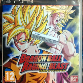 DRAGON BALL RAGING BLAST PAL ESPAÑA PS3 PLAYSTATION 3 ENVIO CERTIFICADO / 24H