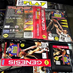 NCAA Final Four Basketball SEGA GENESIS COMPLETO Mindscape BASKET ENTREGA 24H