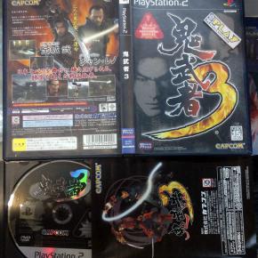 ONIMUSHA 3 III DEMON SIEGE JAPAN IMPORT COMPLETO PS2 PLAYSTATION ENVIO 24 HORAS
