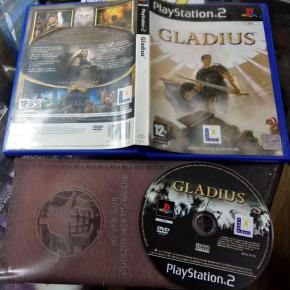 GLADIUS PAL ESPAÑA COMPLETO BUEN ESTADO PS2 PLAYSTATION 2 ENVIO AGENCIA URGENTE