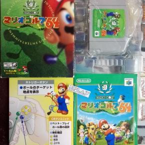 MARIO GOLF COMPLETO BUEN ESTADO NTSC JAPAN IMPORT N64 NINTENDO 64