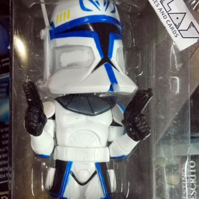 FIGURA FIGURE CAPTAIN REX STAR WARS THE CLONE WARS BOBBLE HEAD FUNKO ENVIO 24H