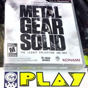 METAL GEAR SOLID THE LEGACY COLLECTION 1987-2012 PLAYSTATION 3 NUEVO SELLADO PS3