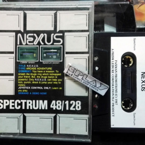 NEXUS PRISM 1987 CINTA TAPE SINCLAIR SPECTRUM  ENVIO AGENCIA 24H