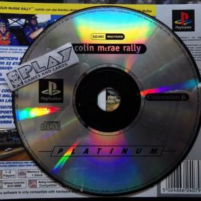 COLIN MCRAE RALLY PAL SOLO DISCO PSX PSONE PLAYSTATION PS1 ENVIO CERTIFICADO/24H