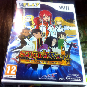 SAKURA WARS SO LONG MY LOVE WII PAL ESPAÑA NUEVO NEW FACTORY SEALED ENTREGA 24 H