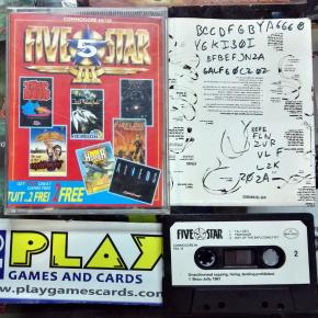 Five Star III Beau Jolly Commodore 64 128 - 7 juegos clásicos -
