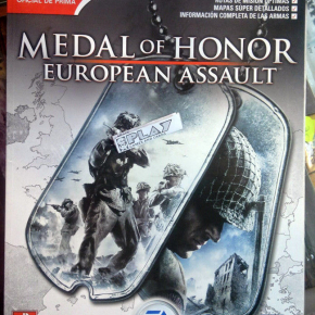 GUIA ESPAÑOL OFICIAL MEDAL OF HONOR EUROPEAN ASSAULT GAMECUBE PS2 XBOX ENVIO 24H