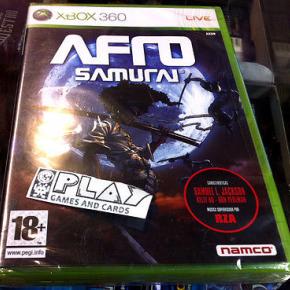 AFRO SAMURAI XBOX 360 PAL ESPAÑA NUEVO PRECINTADO NEW FACTORY SEALED ENTREGA 24H