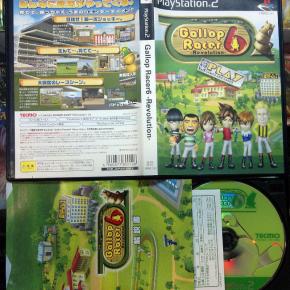 GALLOP RACER 6 REVOLUTION JAPAN IMPORT COMO NUEVO PS2 PLAYSTATION 2 ENVIO 24H