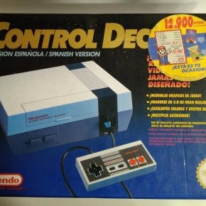 Nintendo Nes Deck Control Pal España (Envios Combinados)
