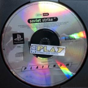 SOVIET STRIKE SOLO DISCO PAL SONY PLAYSTATION 1 PSX PS1 PSONE ENVIO AGENCIA 24H